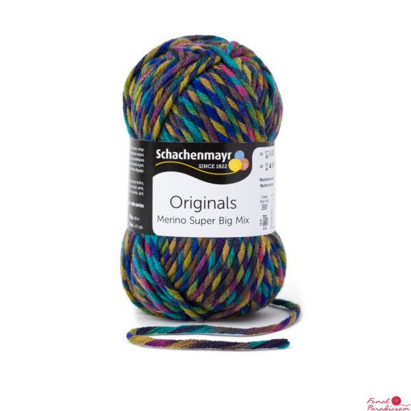 Merino Super BIG Mix Color Fantázis 00189