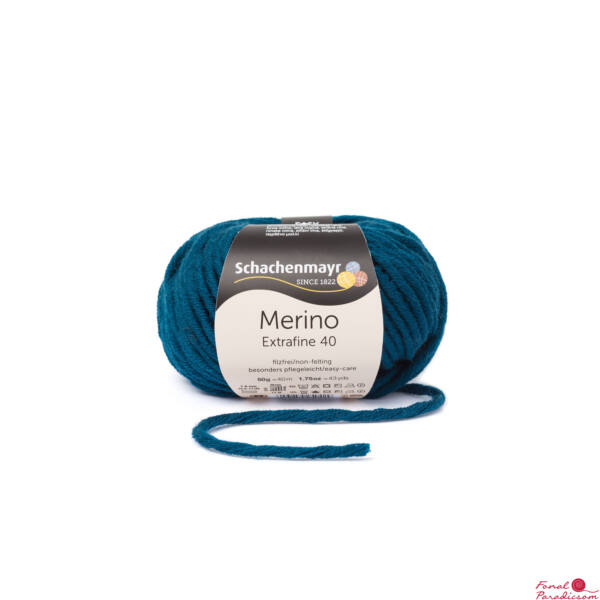 Merino Extrafine 40 vadréce zöld 00364