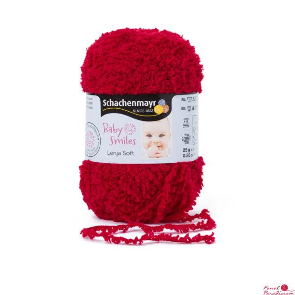 Lenja Soft  Baby Smiles Cseresznye piros 01031