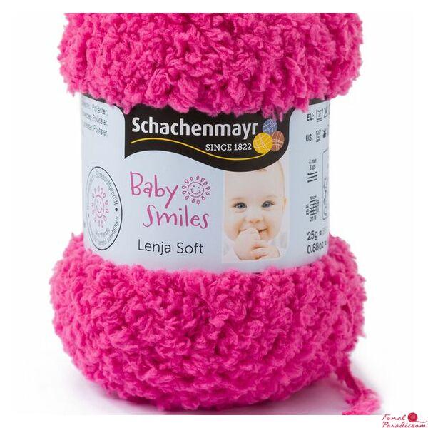 Lenja Soft Baby Smiles cukorka rózsaszín 01036