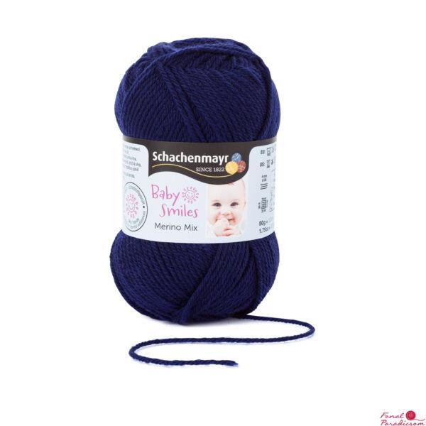 Merino Mix Baby Smiles Tengerész kék 01050