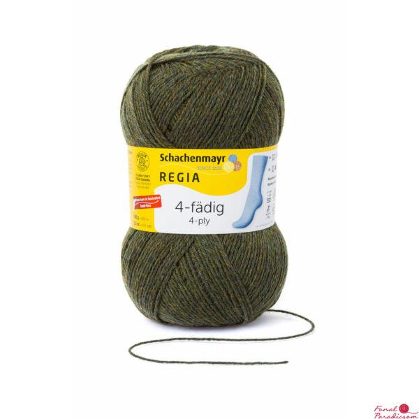 Regia zoknifonal 100 g zöld melírozott 02247