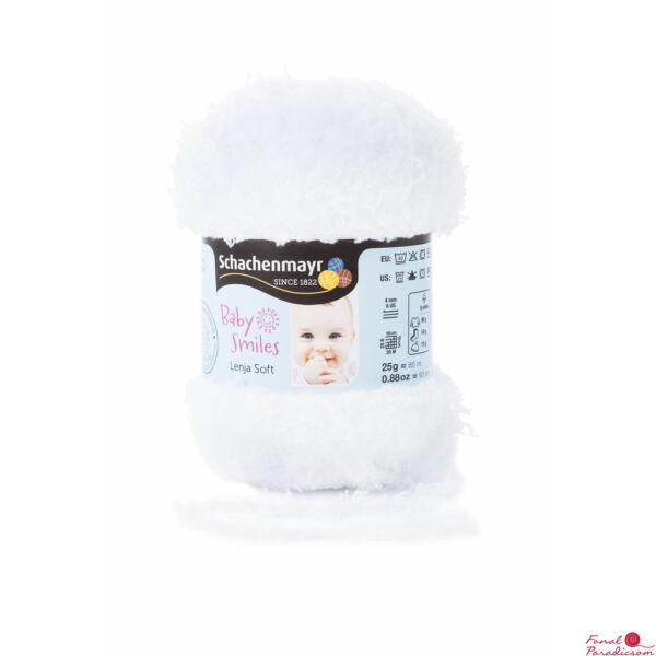 Lenja Soft Baby Smiles fehér 01001