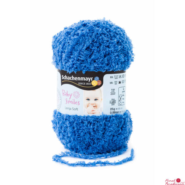 Lenja Soft  Baby Smiles Farmer kék 01052