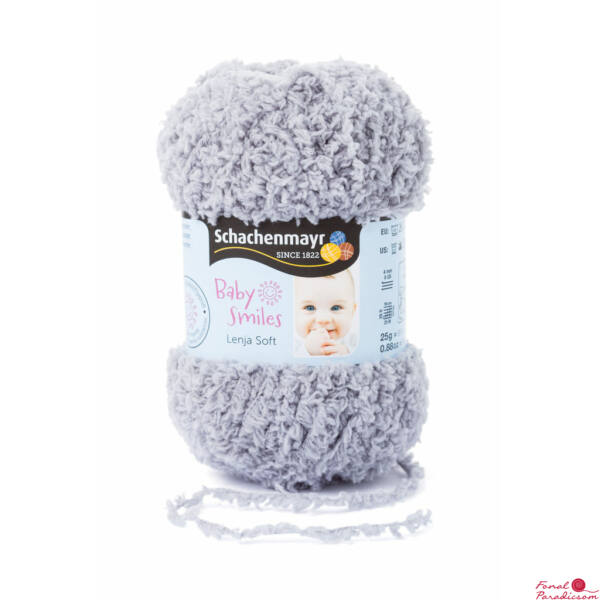 Lenja Soft Baby Smiles szürke 01090