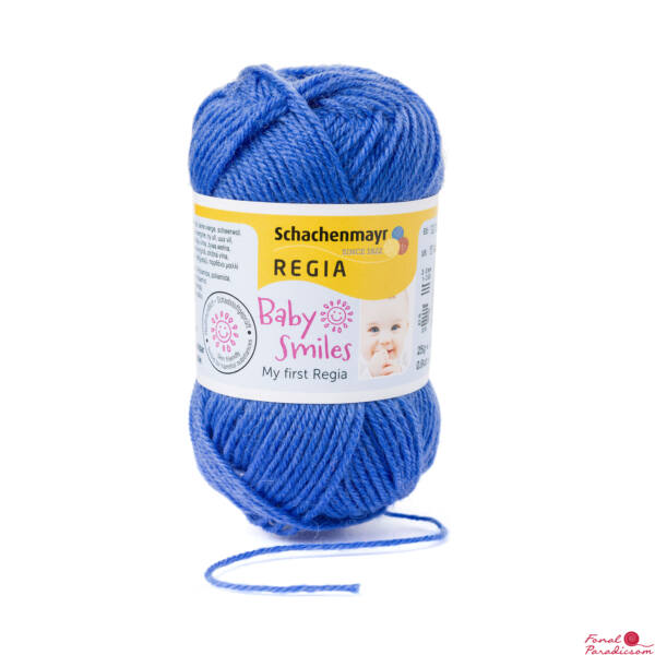 My first Regia 25 g baba zoknifonal Ég kék 01053