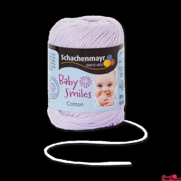 Cotton Baby Smiles Mályva 01034