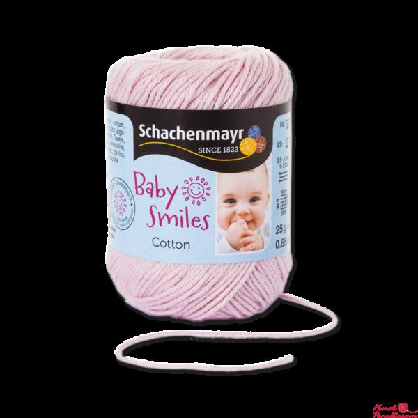 Cotton Baby Smiles baba rózsaszín 01035