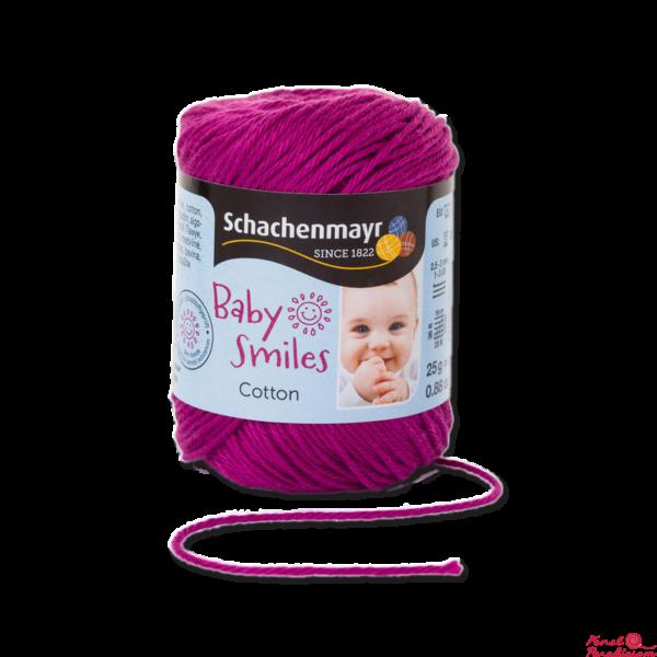 Cotton Baby Smiles Fukszia 01037