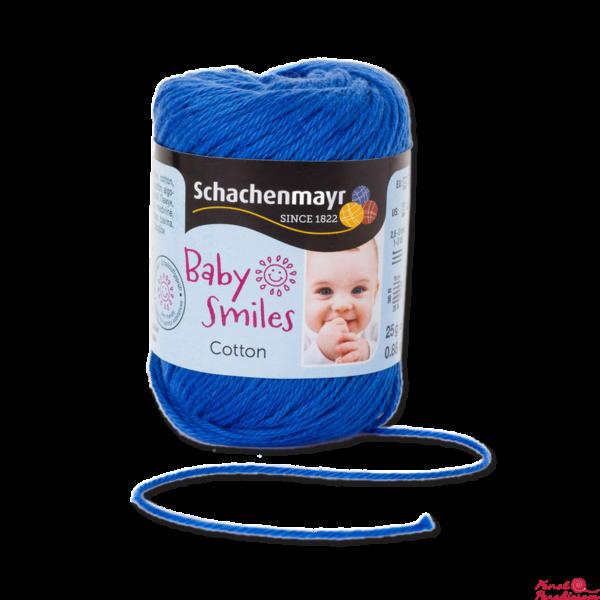 Cotton Baby Smiles Ég kék 01053