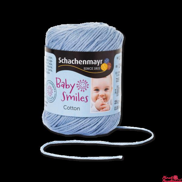 Cotton Baby Smiles babakék 01054
