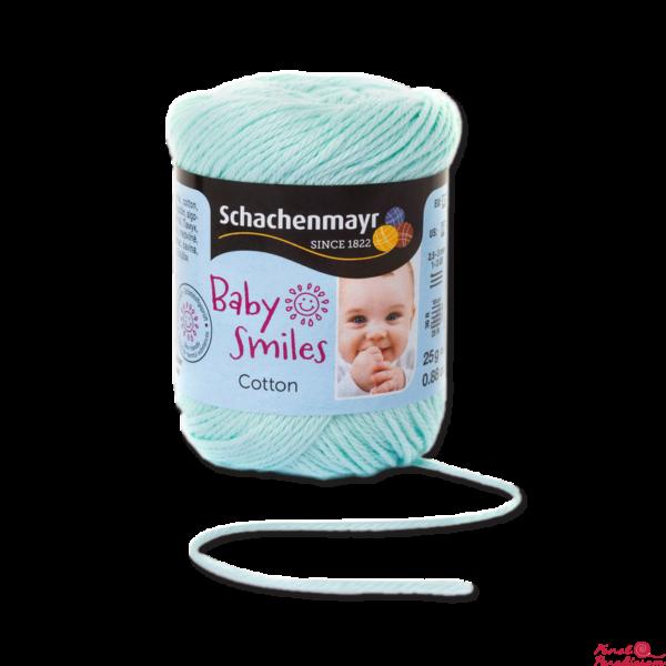 Cotton Baby Smiles mentazöld 01066