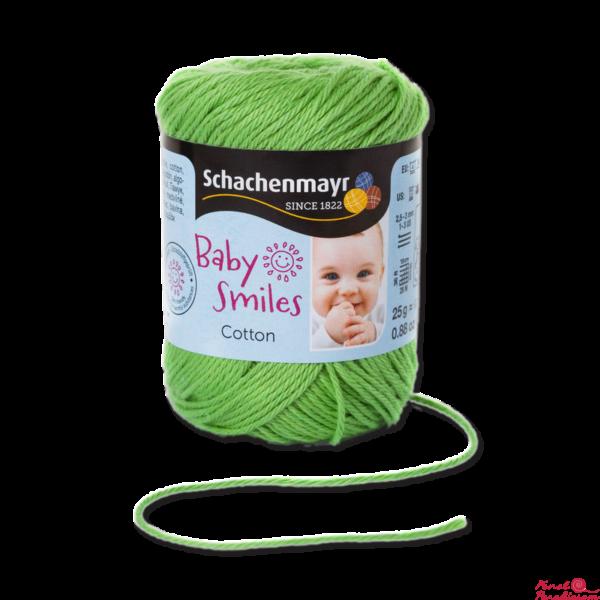 Cotton Baby Smiles alma zöld 01072
