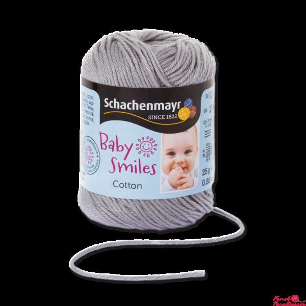 Cotton Baby Smiles szürke 01090